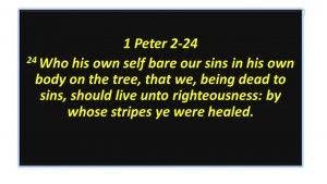 By his stripes we were healed – Frank Wyatt ministries Fairborn Ohio