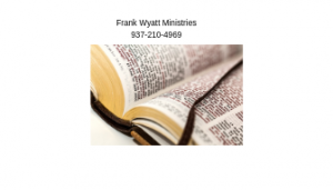 Frank Wyatt Ministries Fairborn Ohio